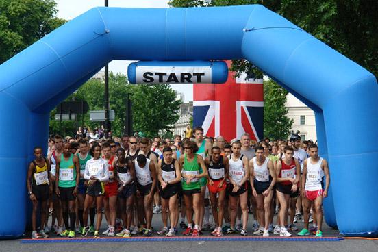 12th British 10K London Run