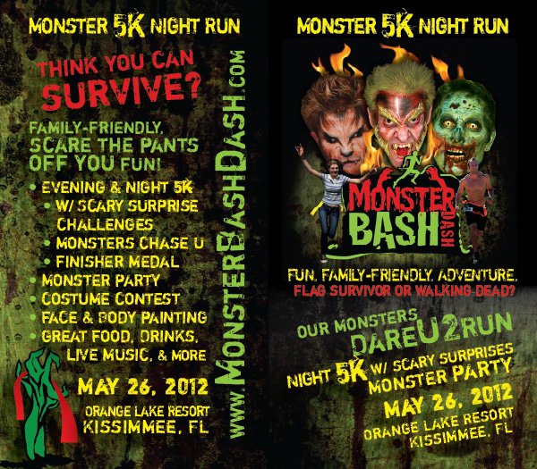 Monster Bash Dash 5K Night Run