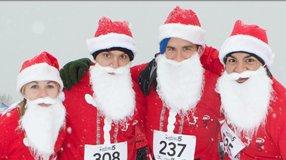 Santa Hustle Smokies 5k & Half Marathon
