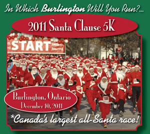 Santa 5K Run and Walk