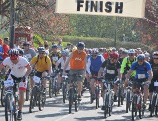 Houghton Trail 31K Mountain Bike Cycle 2012