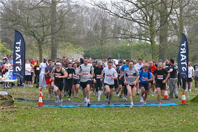 Run Richmond Park 5k Race 1 2012