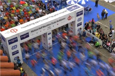 České Budějovice Half Marathon