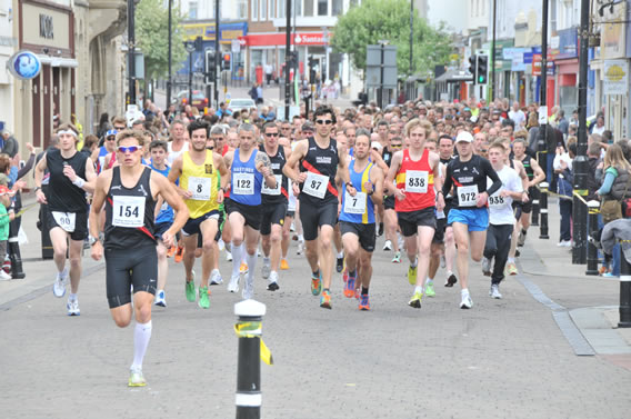 Hastings Runners 5 mile road race