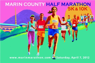 Marin County Half Marathon, 10k and 5k