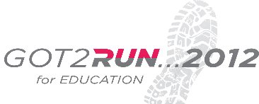 Got2Run . . . For Education