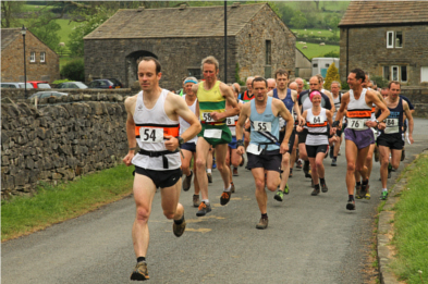 Pendle Cloughs Fell Race