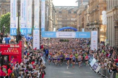 Bank of Scotland Great Scottish Run 2012