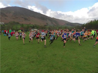 Cowpe junior fell races including English championship