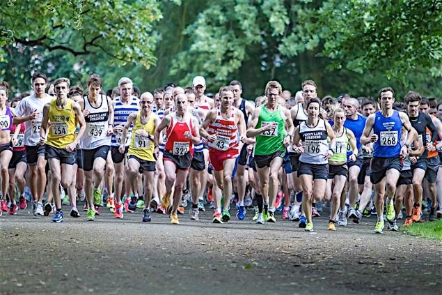 Sefton Park 5 miler (Tony Barnes)