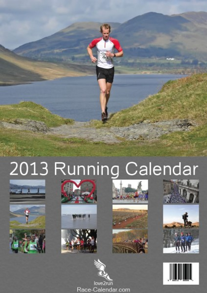 2013 Race-Calendar.com Wall Calendar for Runners