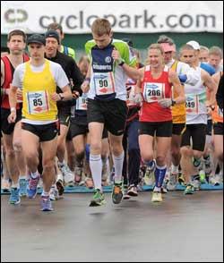 Kent Roadrunner Marathon 2013