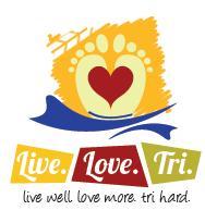 live. love. tri. triathlon