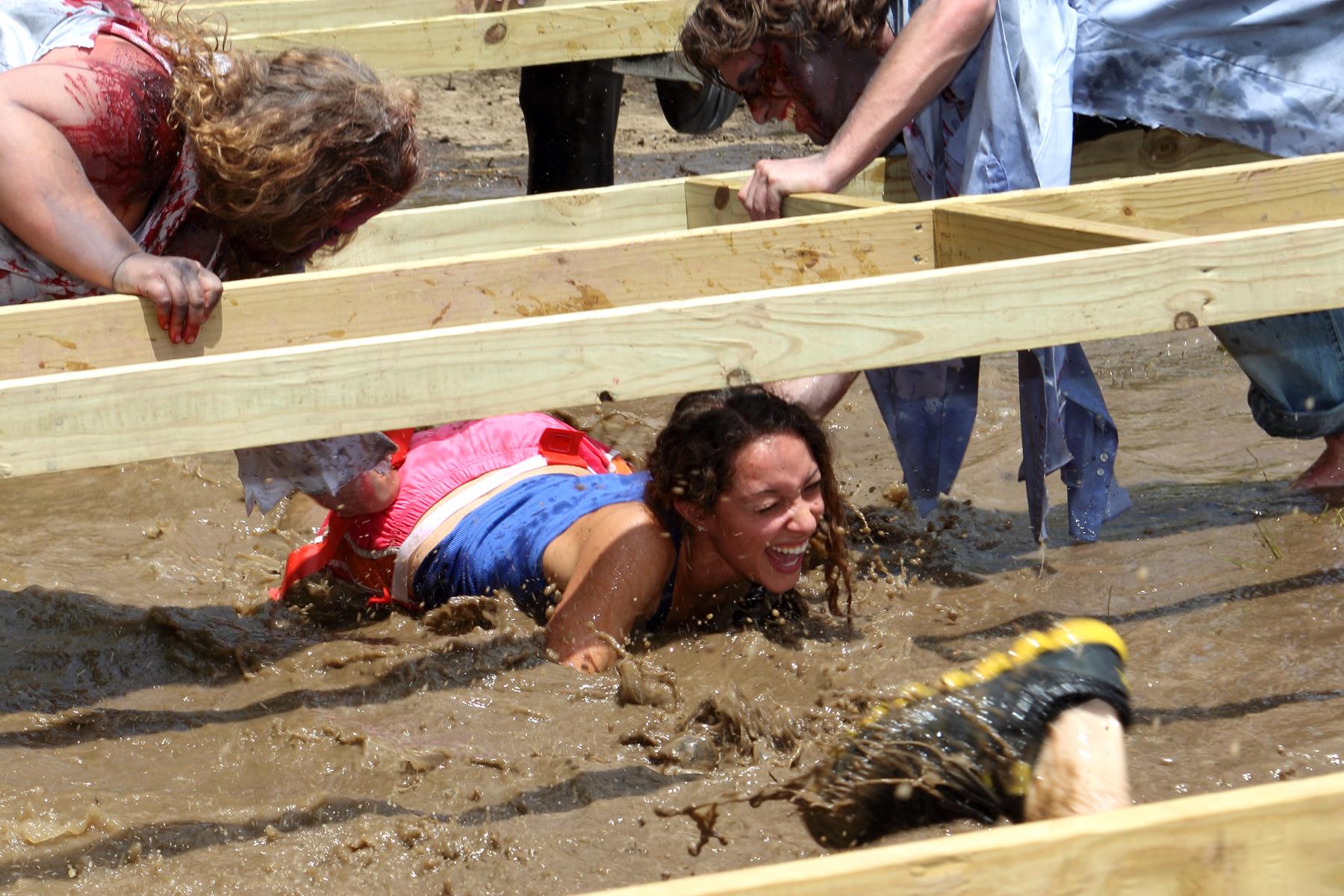 The Zombie Mud Run