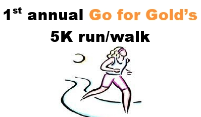 Go for Gold's 5K