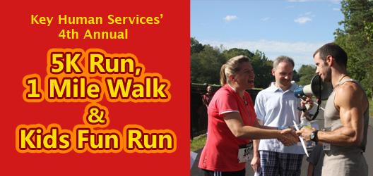 Key Human Services 5K Run, 1 Mile Walk and Kids Fun Run