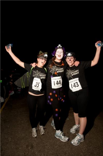 Parkinson's UK Spooky Sprint - Waltham Abbey