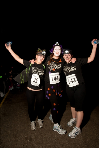 Parkinson's UK Spooky Sprint - Nottingham