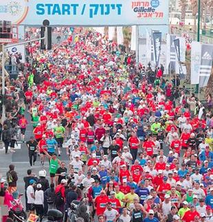 2013 Tel Aviv Gillette Marathon