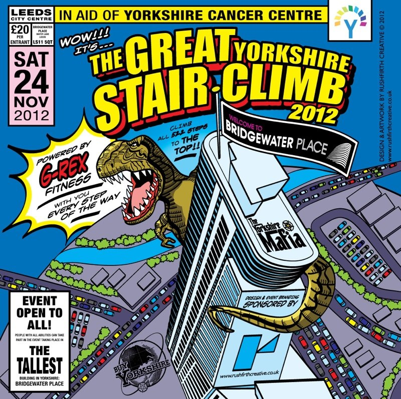 The Great Yorkshire Stairclimb