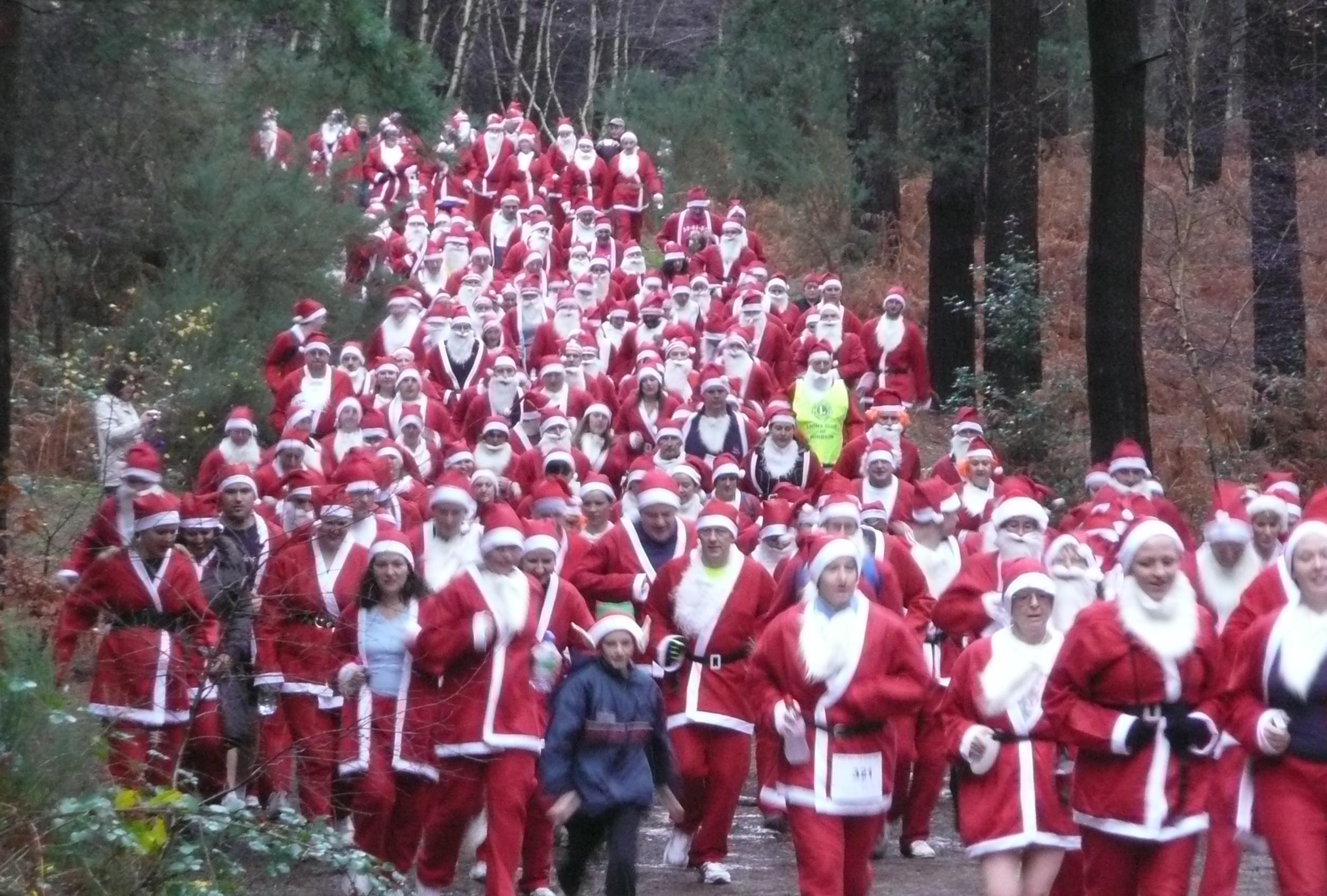 THc Santa Dash