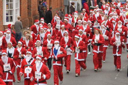 The Marlow Santa's Fun Run