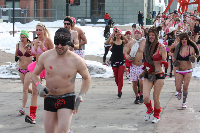 Cupid's Undie Run - Minneapolis