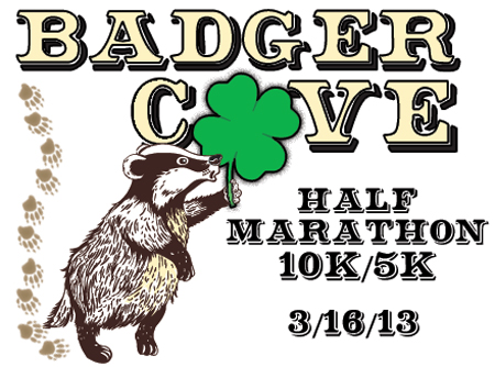 Badger Cove Half Marathon/10K/5K