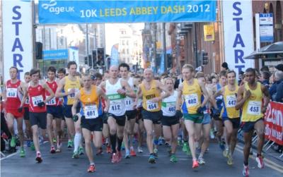 Age UK Leeds Abbey Dash 2013