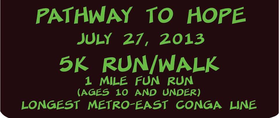 Beacon Pathway to Hope 5K Run/Walk & 1 Mile Fun Run (ages 10 & under)