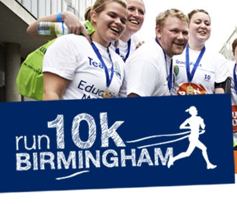 Teach First Run 10k Birmingham