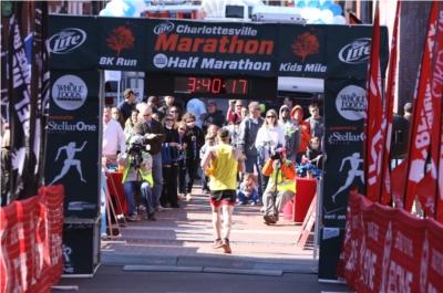 Charlottesville Marathon / half marathon / 8k