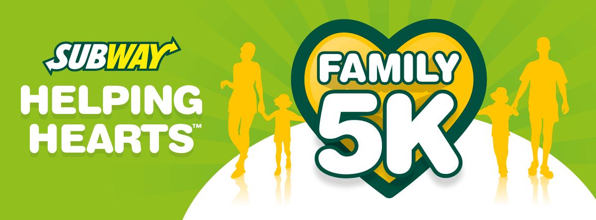 Subway Helping Hearts Family 5K