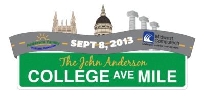 John Anderson College Avenue Mile
