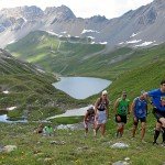 Swissalpine: Hoch zum Sertigpass und steil runter