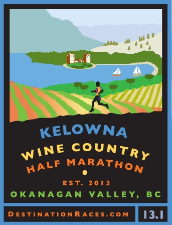 Kelowna Wine Country Half Marathon