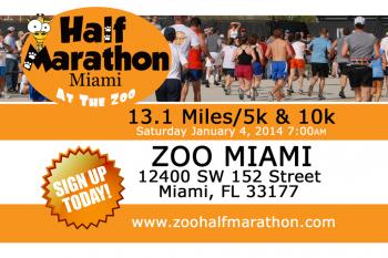 Zoo Miami: Half Marathon, 10K & 5K.