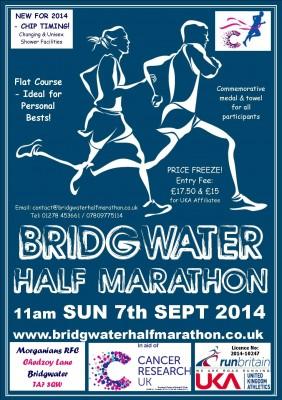 Bridgwater Half Marathon