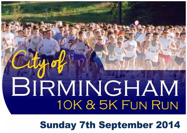 City of Birmingham 10K AND 5K
