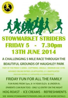 Stowmarket Striders Friday 5