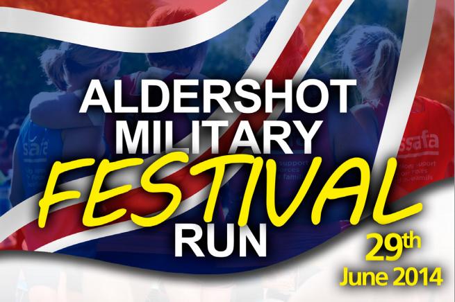 ALDERSHOT MILITARY FESTIVAL RUN
