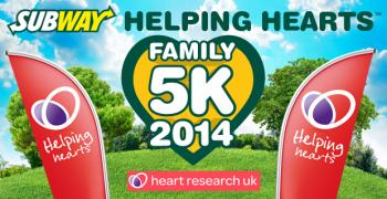 SUBWAY Helping Hearts™ Family 5K London