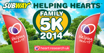 SUBWAY Helping Hearts™ Family 5K Manchester