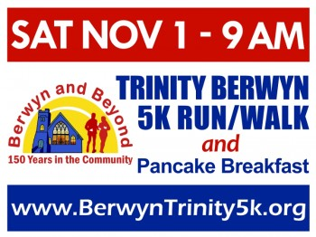 Trinity Berwyn 5K Run/Walk and Pancake Breakfast