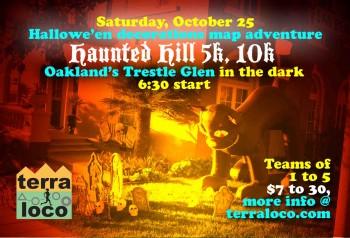 Haunted Hill 5k, 10k