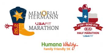7th Annual Memorial Hermann USA FIT Marathon, Fort Bend Kia Half Marathon and Humana Vitality Family Friendly 5K