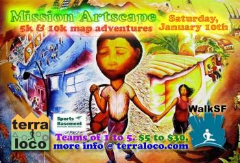 Mission Artscape 5k, 10k