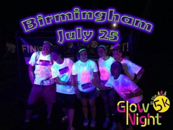 Glow In The Night 5K - Birmingham AL