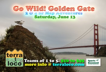 Go Wild! Golden Gate 2 hr, 4 hr Map Adventure
