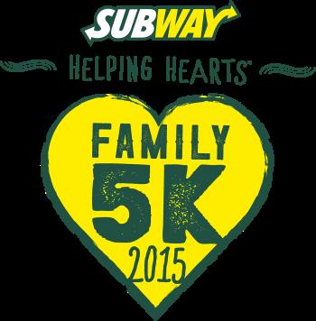 SUBWAY Helping Hearts™ Family 5K series
